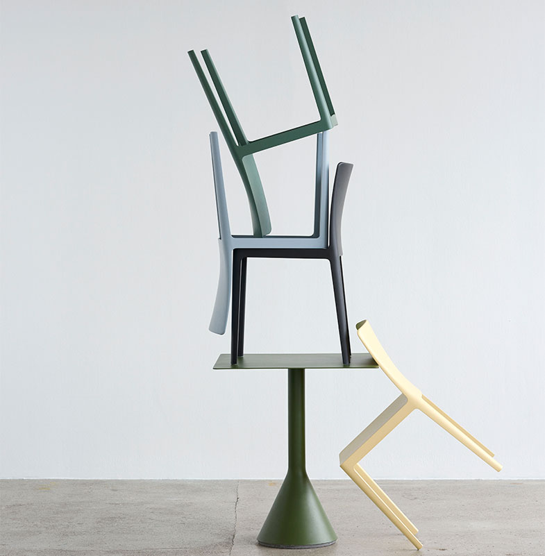 HAY Bremen POPO - the new 'Elementaire'  Chair designed for everyday life
